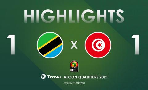 Embedded thumbnail for CAN (qualifications): Tanzanie 1-1 Tunisie