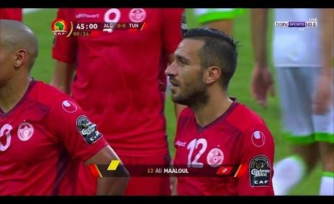 Embedded thumbnail for CAN 2017: Tunisie 2-1 Algérie