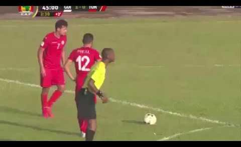 Embedded thumbnail for Elim. CM 2018: Guinée 1-4 Tunisie